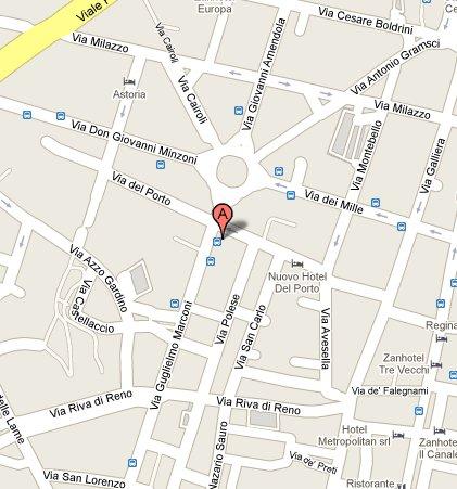mappa viamarconi