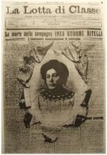 """""""la Lotta di classe"""" Ines Oddone Bitelli, 23 maggio 1914"""